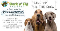 Bark n' Fly presents Stand Up for the Dogs