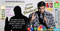 Summerhill Winery presents Wine and Laughs with Sunee Dhaliwal