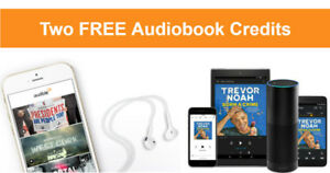 2 free audiobooks with the audible free trial!