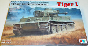 Rye Field Models 1/35 Tiger I early production w/ Full Interior