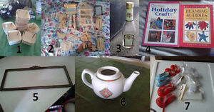 Selling Various Craft Items