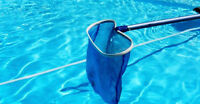 Entretien hebdomadaire de piscine et spa!