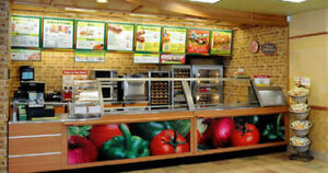 "AUCTION! (Like NEW) ""Subway"" Resto ONSITE & LIVE Feb 25 @ 2 pm"