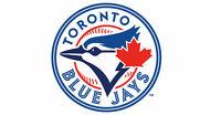 3 Toronto Blue Jays Tickets Ranger ALDS GAME 5 SEC 130D