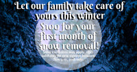 ❄Residential & Commercial Snow Removal Services (204)808-8813❄