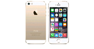 iPhone 5S 16GB Gold Factory Unlocked Apple iPhone 5S 16gb works