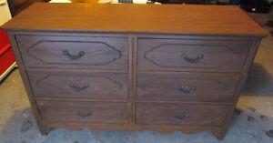 6-drawer art deco dresser 4 sale