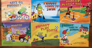 FROGGY picture books by Jonathon London $3 each or 6 for $15