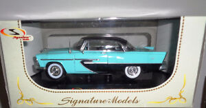 1/32 Diecast Signature Die Cast Models 1956 Plymouth Hard Top