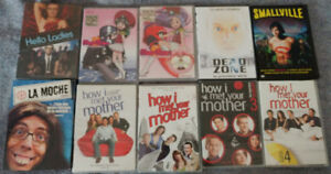 DVD TV shows, how i met your mother, dead zone, dead like me ect