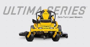 Introducing the ALL NEW Cub Cadet Ultima Series Zero Turn