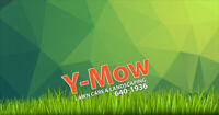 Y-Mow Lawn Care & Landscaping is Hiring