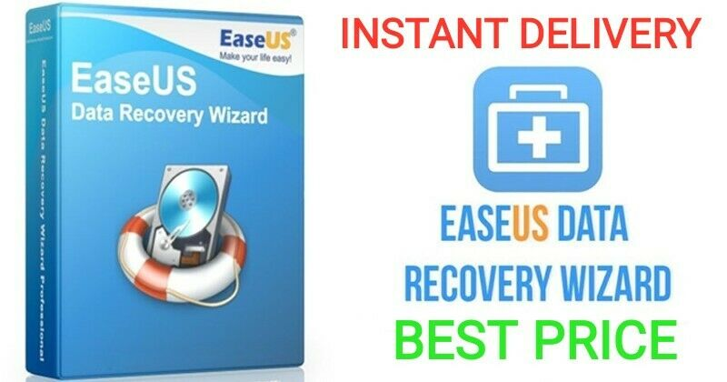 EaseUs Data Recovery Wizard Professional-GENUINE-INSTANT DELIVERY + BEST PRICE