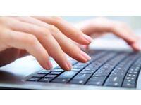 Home based medical/legal transcription service offered