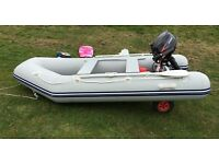 dinghy / tender Waveline with 5hp outboard