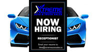 PART TIME RECEPTIONIST (20-30 hour work week)