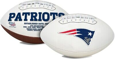 Signature Series NFL New England Patriots Autograph Full Size Official Football](Nfl New England)