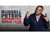 2x Russel Peters Tickets 26.04 @london Wembley SSE