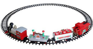 NEW: North Pole Junction 34 pieces Christmas Train Set - $60