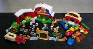 Fisher Price Little People Bulk Farm set and play matt