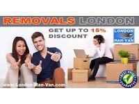 London Man Van - Professional, Reliable, Cheap & Fully Insured Removal Service
