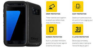TELEPHONE SAMSUNG S7 EDGE AVEC ETUI OTTERBOX