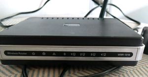 D-Link Wireless G router. Fast