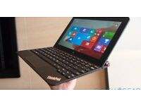 Lenovo ThinkPad 10 Laptop/Tablet Intel Atom (Z3795) 1.60GHz, 4GB, 64GB SSD, Windows 8 Mint Like iPad
