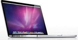 Apple MAcBook Pro 15 inch - 8gb RAM - 500gb HD - i7 chip Hurlstone Park Canterbury Area Preview