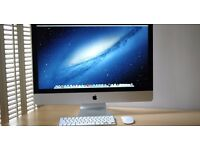 "Apple iMac 27"" LED 2.9GHZ i5 8GB 1TB HD Desktop As New Boxed Ready To Pickup Today"