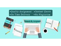 Dissertation / Assignment / Essay / Coursework / Proofreading / Writing / Academic / SPSS / Help