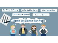 Expert in Dissertation / Assignment / Thesis / Essay Writer Help / SPSS / Stata / Matlab / Tuition