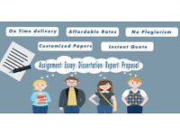 Assignment/Dissertation/Essay/Coursework/PhD Thesis /Proposal/Tutor Writing Help/Editing/Nursing/Law