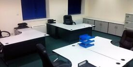 Offices for 2 - 5 people available now in Perivale > Furnished > With Parking