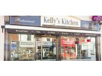 Full time permanent kitchen asisstant required for busy daytime restaurant