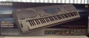 Casio WK-3000 keyboard and stand. Rydalmere Parramatta Area Preview