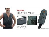 Outdoor Power Heated Vest - Keep Warm When Outdoors (THREE Available) - Ideal Xmas Gift