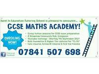 GCSE Maths Academy @ Dobbin Street Community Centre, Armagh City