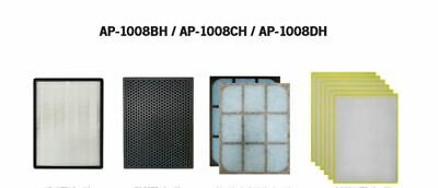 Compatible Replacement Air Purifier Filter  for  AP-1008BH/AP-1008BHCH/AP-100DH