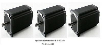3pc Nema42 Hybrid Stepper Motor 2830 Oz-in 6.0a Single Shaft Kl42h2150-60-4a