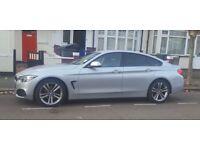 Silver 418D Gran Coupe Sport Automatic , Female Owner, Excellent Condition, Full Feature spec