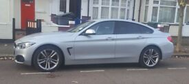 BMW 2015, silver 418D Gran Coupe Sport for Sale, great condition