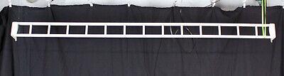 Office Panel Hanging Rail Cubicle Metal Paper Mgt Desk Organizer Holder 42