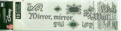 DISNEY Mirror Mirror On the Wall Evil Queen Snow White Stickers