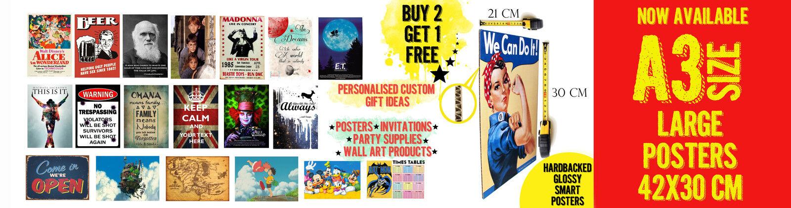 Retro Design Posters