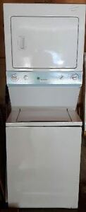 GE stacked washer and dryer Kawartha Lakes Peterborough Area image 1