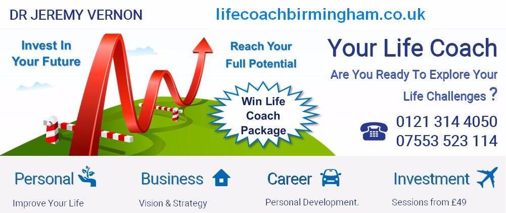 Life Coach Birmingham co uk - Dr Jeremy Vernon