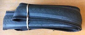 2 x Vittoria Zaffiro Pro Tech 25-622 700x25c 100-130PSI Folding Bicycle Tyre