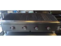 PERRI PERRI GRILL Char Broiler 4 Burner Char Grill 1210mm New