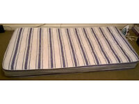 Single Mattresses with Mattresses cover & one pillow